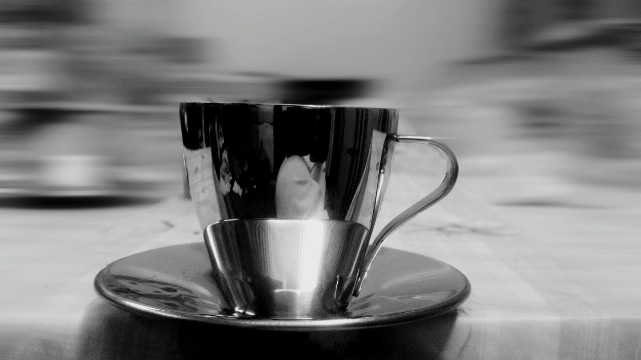STAINLESSSTEEL Stainless Steel CUP of Espresso Bnw Black And White Blackandwhite Black & White Black&white Blackandwhite Photography Blacknwhite