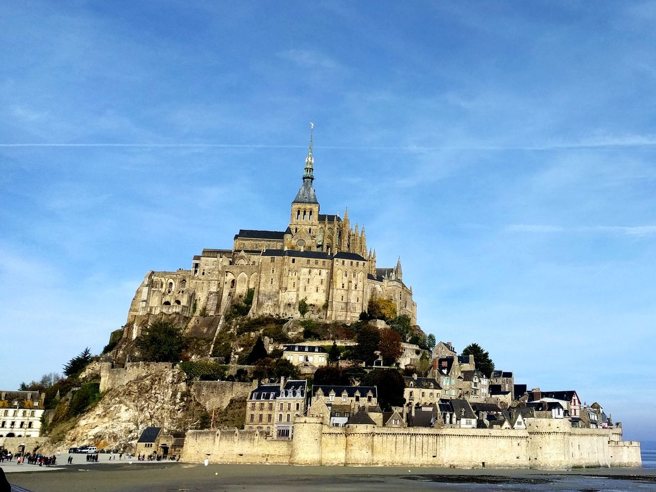 Place Of Worship Architecture Landscape Stone Material Built Structure Sacred Places Mont St Michel The Way Forward Sky Seaside