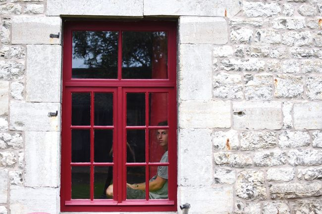 Window Oldhouse Retro Vintage Stonehouse Red 35mm The Week On Eyem