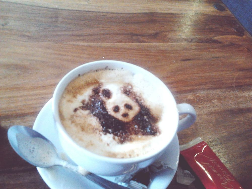 First Eyeem Photo PANDA ♡♡ Coffee ☕ So Kawaii So Cute ❤