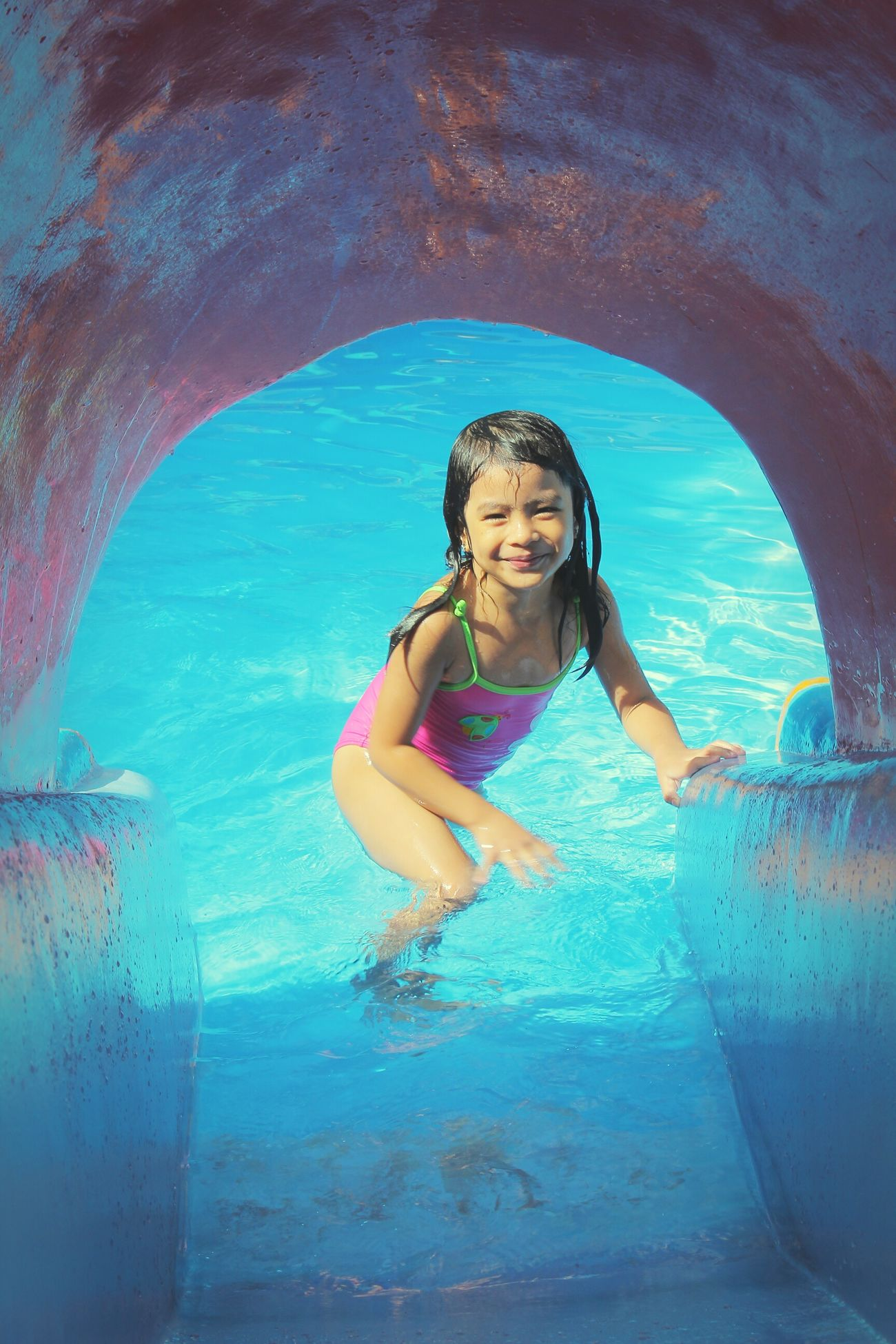 Rain Ate Daughter Swimmingpool IncFamily Batangas