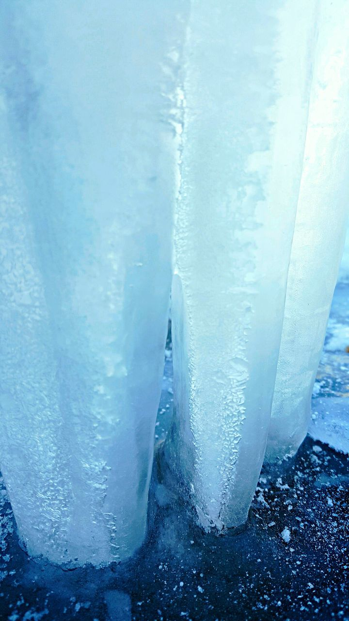 cold temperature, ice, frozen, winter, no people, snow, nature, day, frost, outdoors, beauty in nature, water, close-up, freshness