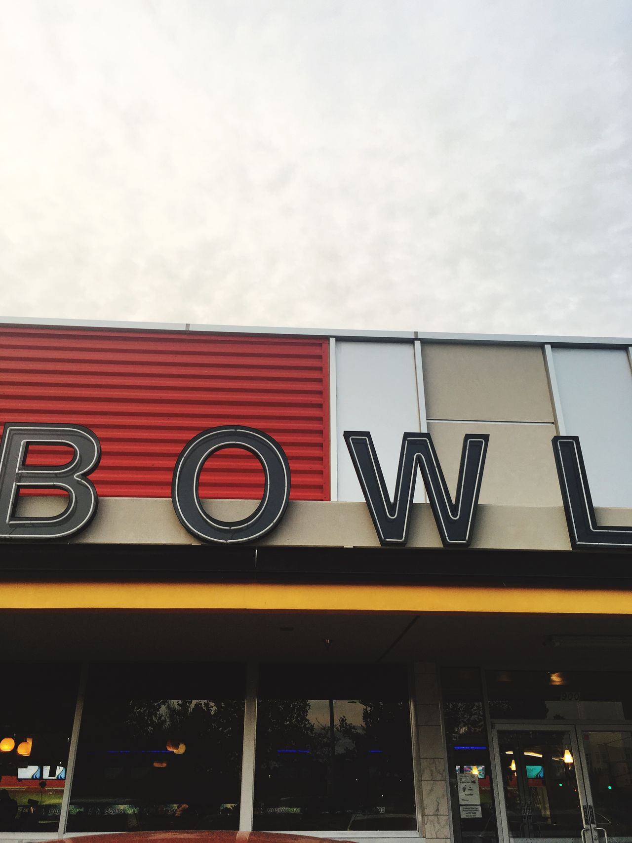 Bowling Alley Bowl Bowling Exterior Building
