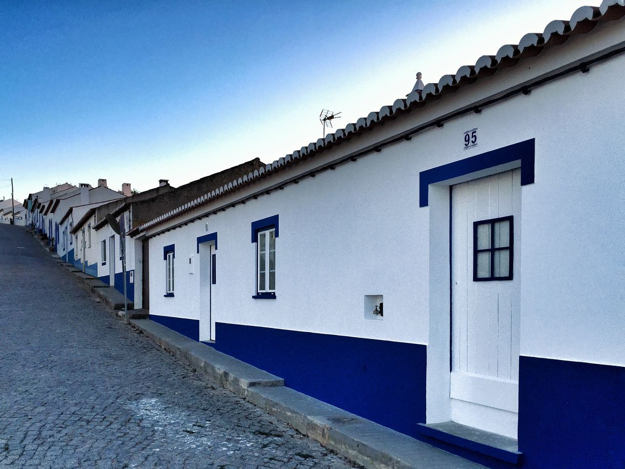 Odeceixe Alentejo Costa Vicentina Hillside White And Blue Houses From My Point Of View Portugal_lovers Portugaligers Portugalcomefeitos