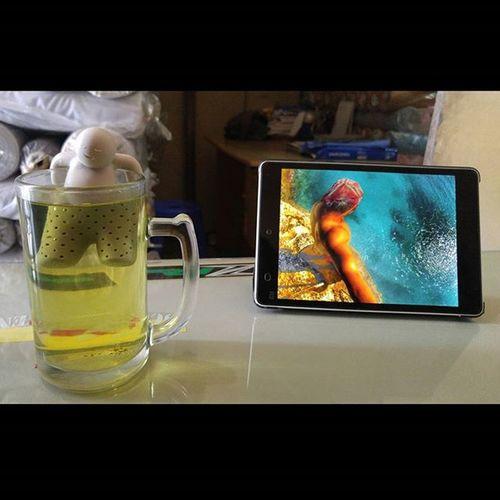 Mr.Tea Greentea Ocha Sencha Val  2015 lg g4 lgg4 lg_g4 xiaomi mipad PhotoGrid alonagadget 🍵