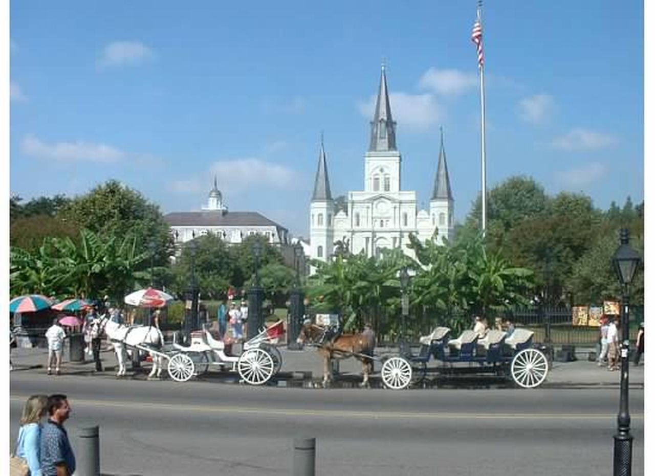 Architecture Building Exterior Day Jackson Square New Orleans Outdoors Sky Travel Destinations