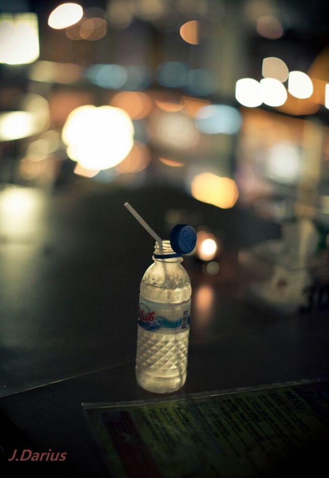 Bottled Water In Seas Of Light