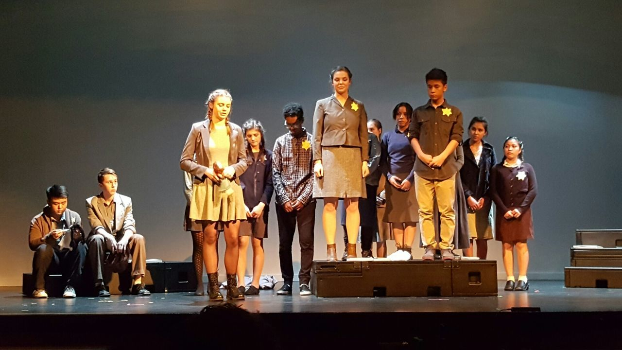 School Play Theatre Performing Arts Event People Young Adult Theatre & Music  Boys And Girls Proudmom School Play Curtain Call Winter Gala