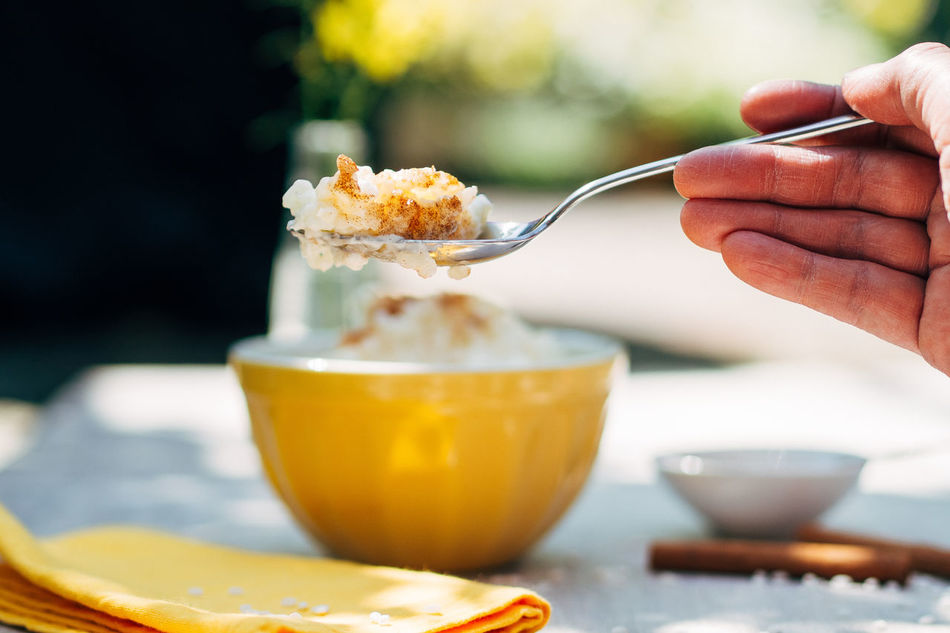 Breakfast! :-) Close-up Cropped Eating Focus On Foreground Food Foodphotography Foodporn Freshness Freshness Healthy Eating Holding Human Finger Indulgence Lifestyles My Favorite Breakfast Moment Part Of Person Ready-to-eat Refreshment Rice Rice Pudding Spoon Sunlight Unrecognizable Person Yellow EyeEm X My Muesli - Breakfast Moment