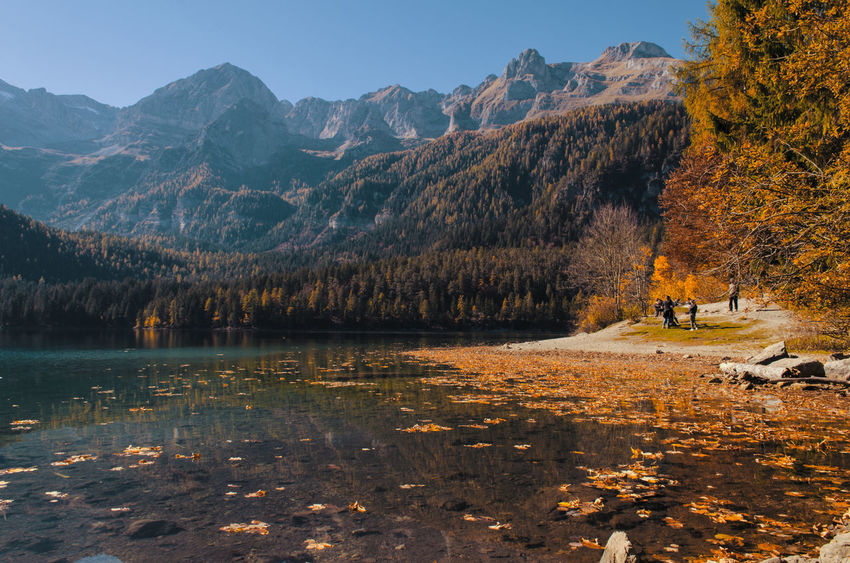 Lago di Tovel, Val di Non, Trentino Alto-Adige, Italia. Lagoditovel Valdinon Trentinoaltoadige Trentinodavivere Italianlandscape Italianphotography EyeEmNewHere Sunsetlover Italy Lostinthemoment Lightsandshadows Nikonphotographer Nikonphotography Nikon D5100  Outdoors Landscape Tranquility Autumn Mountain Water Lake Nature Reflection Day Ig_italy Second Acts Perspectives On Nature Be. Ready. Rethink Things Shades Of Winter An Eye For Travel