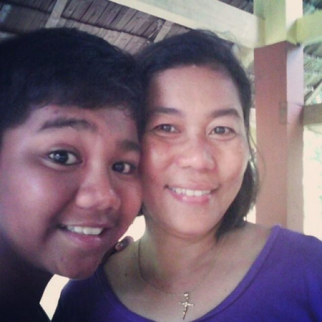 With my Mother SelfieJoined Momma Nakiselfie 😍😘😜
