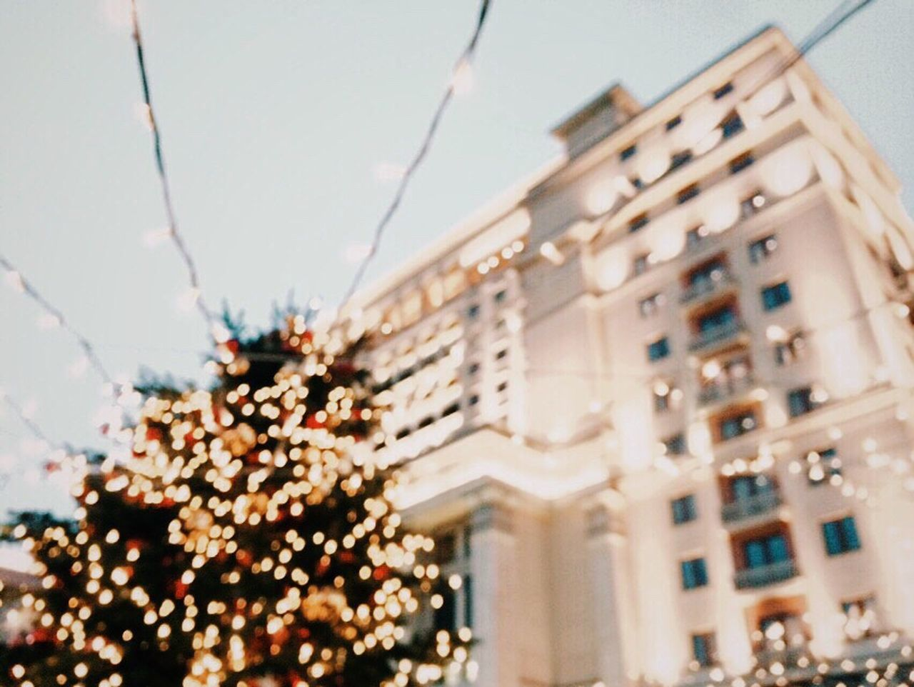 Vscocam Light And Shadow Moscow Bokeh