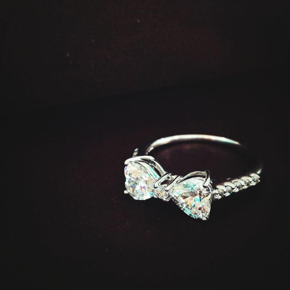 Close-up Gemstone  Valentine's Day  Ring Diamond Rings Luxury Black Background Jewelry Diamond - Gemstone No People Bling Bling