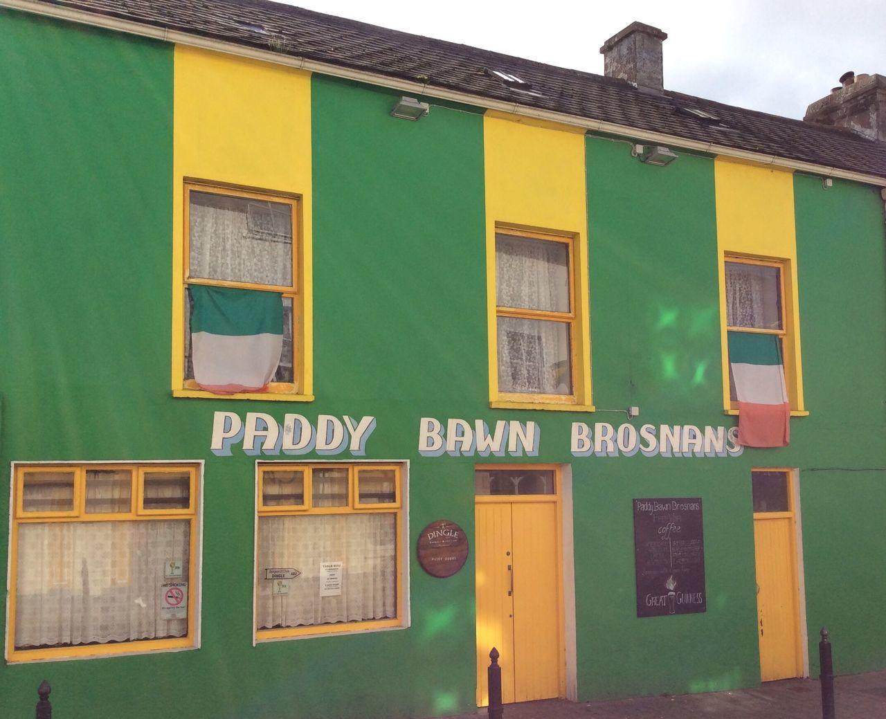 Dingle famous pub Building Exterior