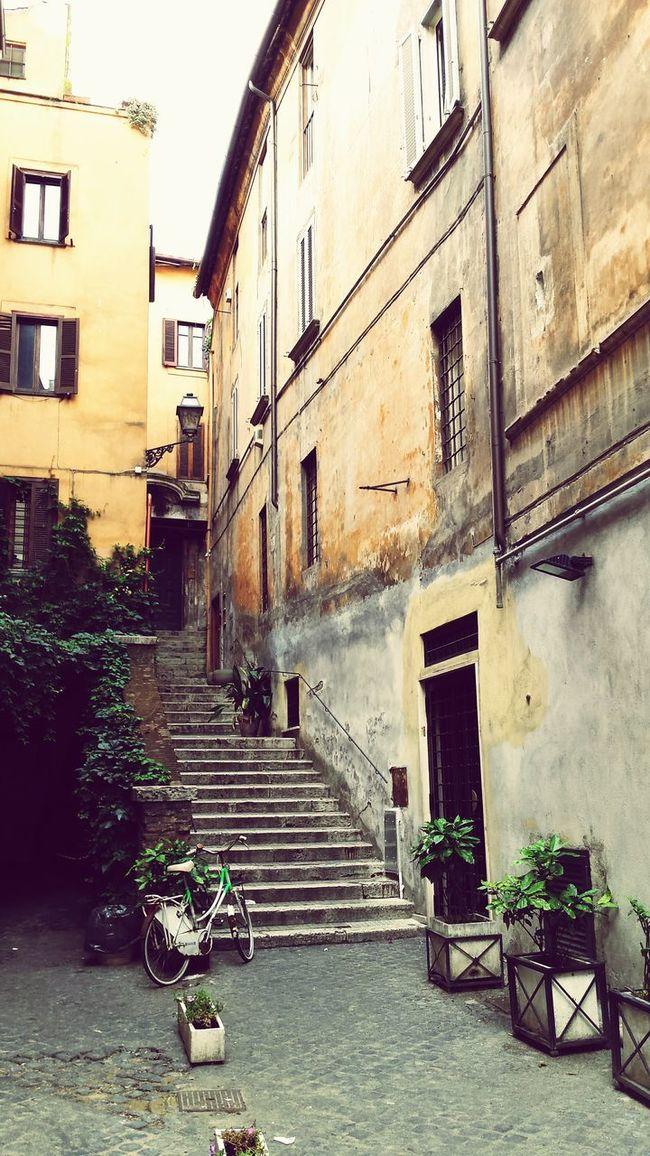 Walking Around Bellaroma Gasse Mattina Presto Stille Romamia Somewhereinrome Earlymorning