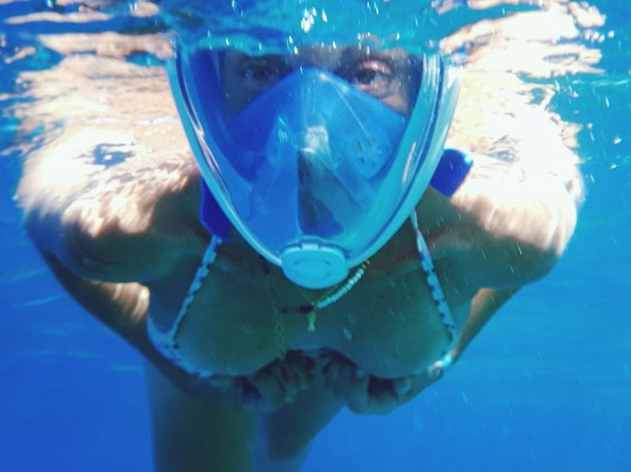 Underwater UnderSea Scuba Diving Snorkeling Swimming Water Aquatic Sport Underwater Diving Looking At Camera Blue Portrait Scuba Mask Summer Adventure Sea Sea Life Sport People Vacations Adriatic Sea Alien 🤣Hi 🤣 Mix Yourself A Good Time The Week On EyeEm Been There. Done That. Be. Ready.