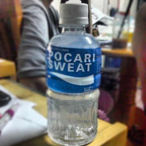 補充一天肚瀉後流失的水份及電解質寶礦力水特 Pocarisweat