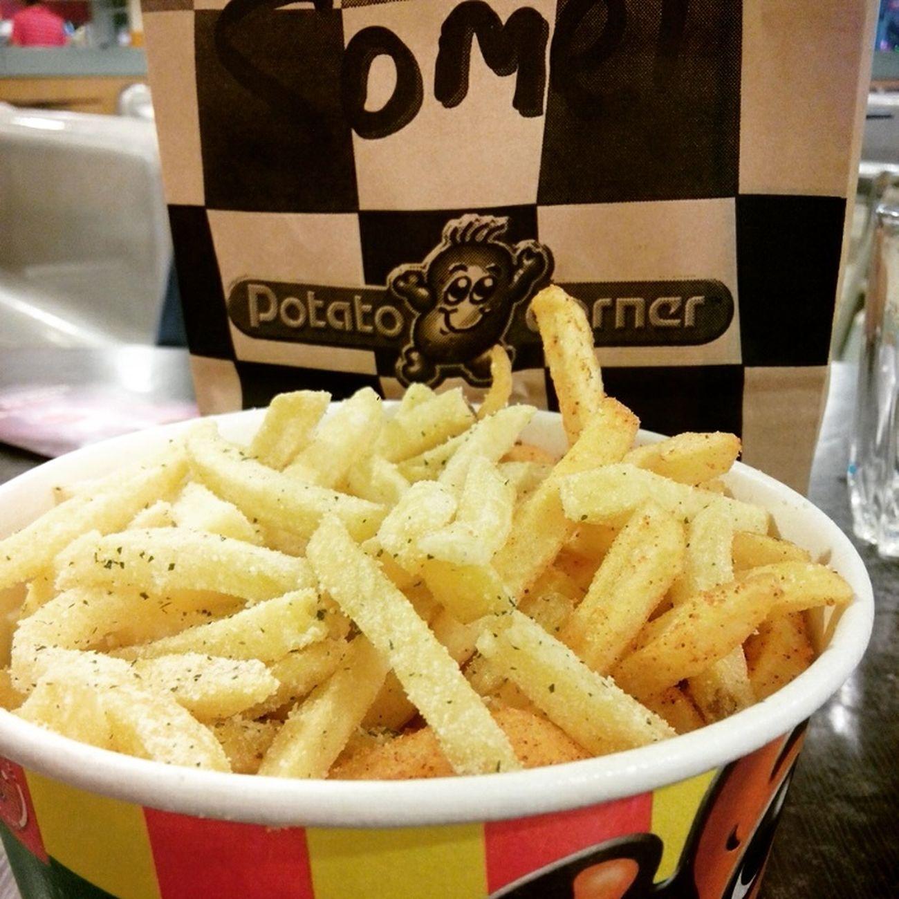 Favorite. Happy Eating. Potato Corner.