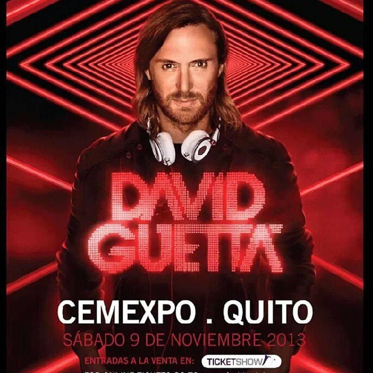 Guetta Quito Noviembre Nosvamos Bday