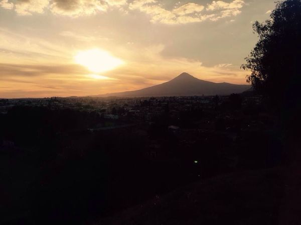 Mountain Sunset Taking Photos Enjoying The View Romantic Sky Mexico View From The Top Sky Traveling Tranquil Scene