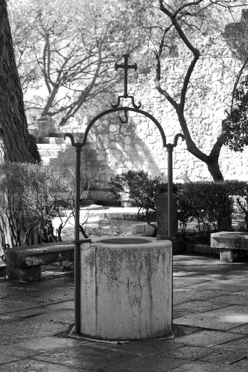Holy Water Well Outside Church