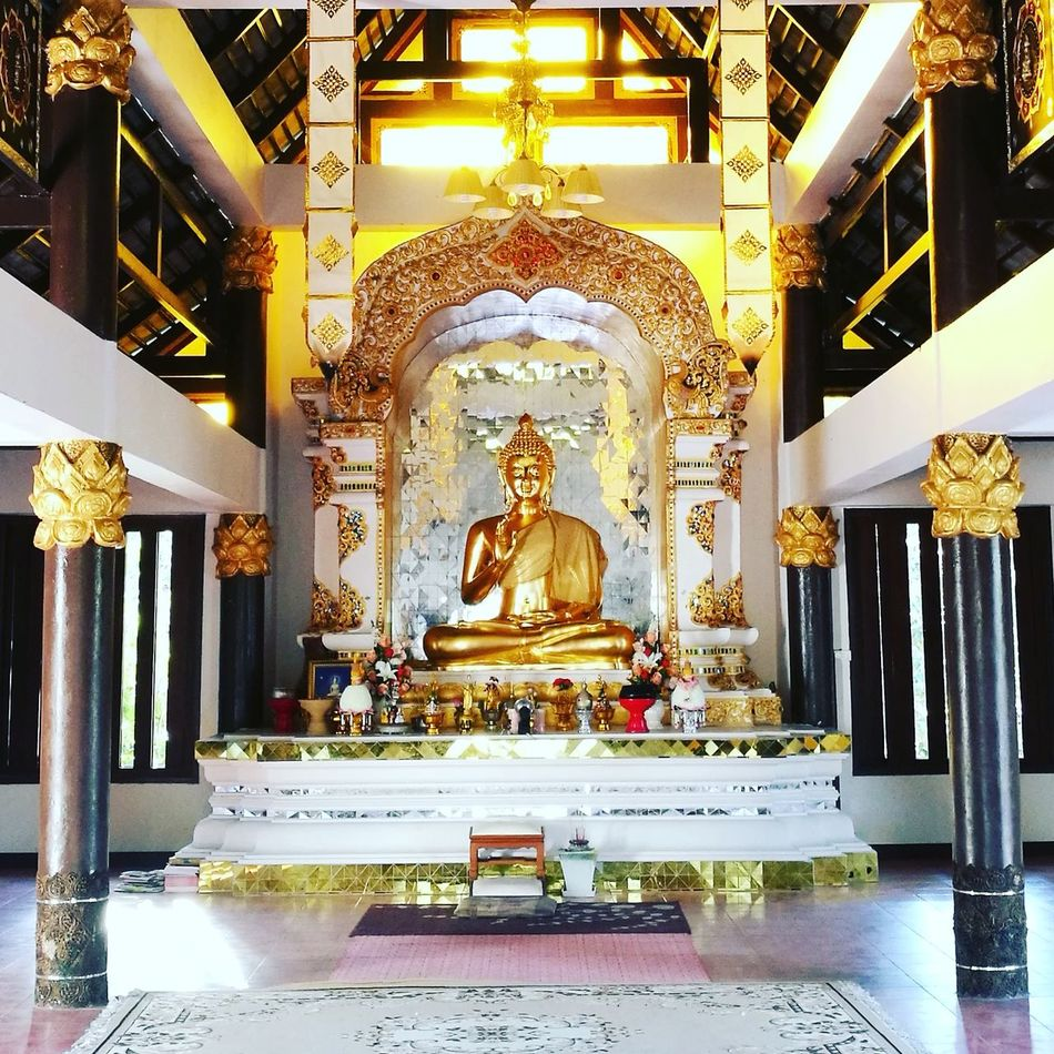 Religion Gold Colored Statue Place Of Worship Spirituality Travel Gold Sculpture Cultures Architecture No People Day