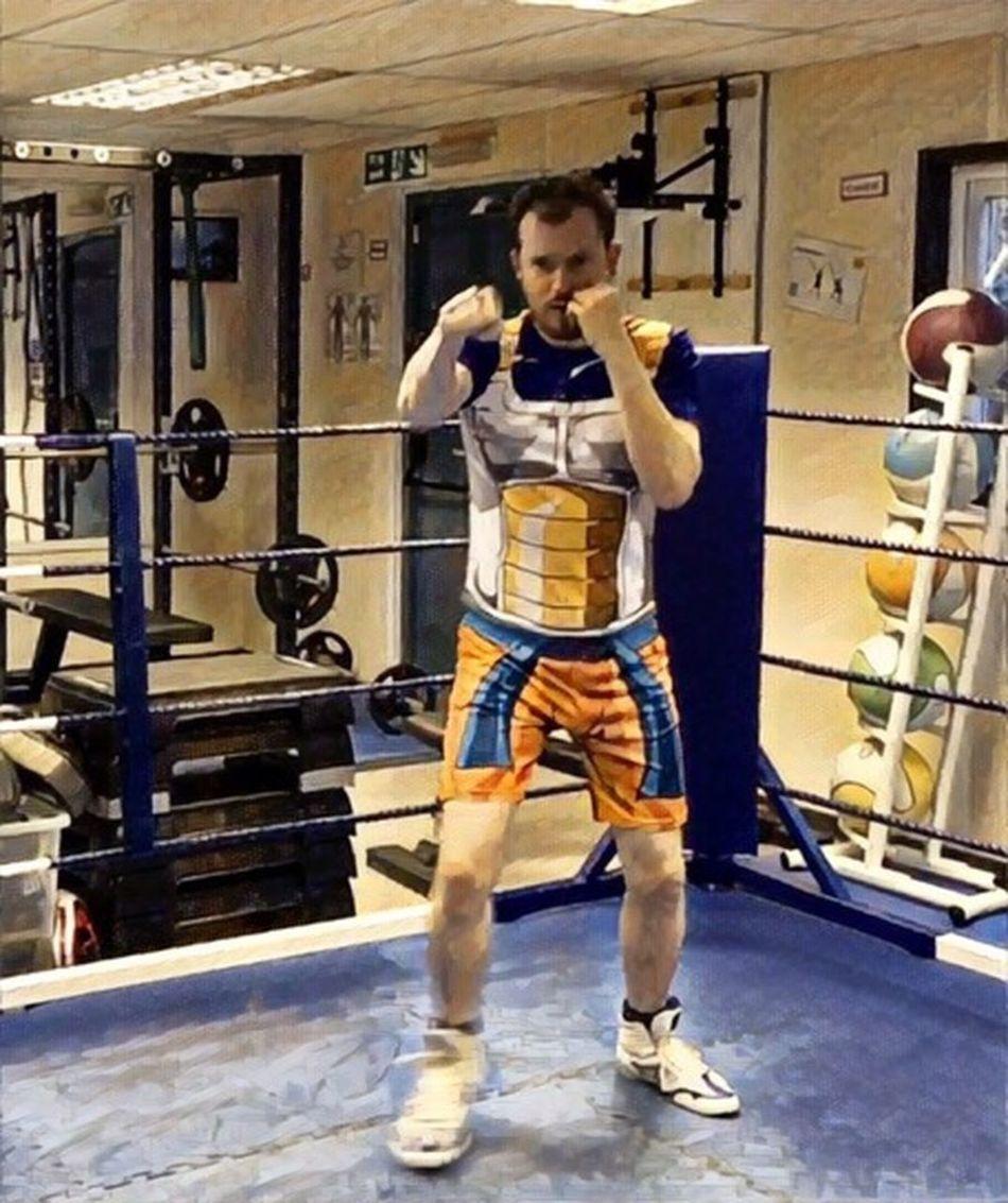 Vegeta shirt Dragonball Z Boxing Training Shadow Boxing