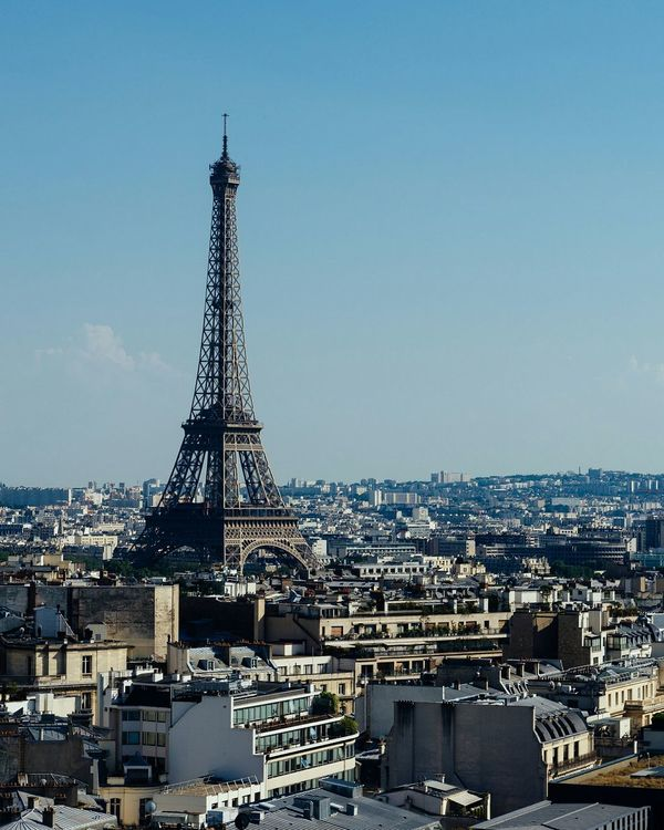 City Cultures Tower Cityscape Sky Business Finance And Industry Outdoors Urban Skyline No People Architecture Day Paris Paris, France  Eiffel Tower Eiffel Tower