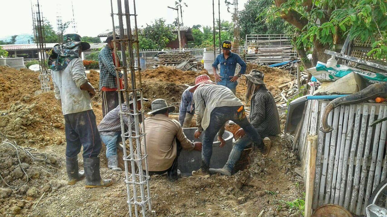 Construction Construction Work Chaingmai Chaingmaithailand Thailand