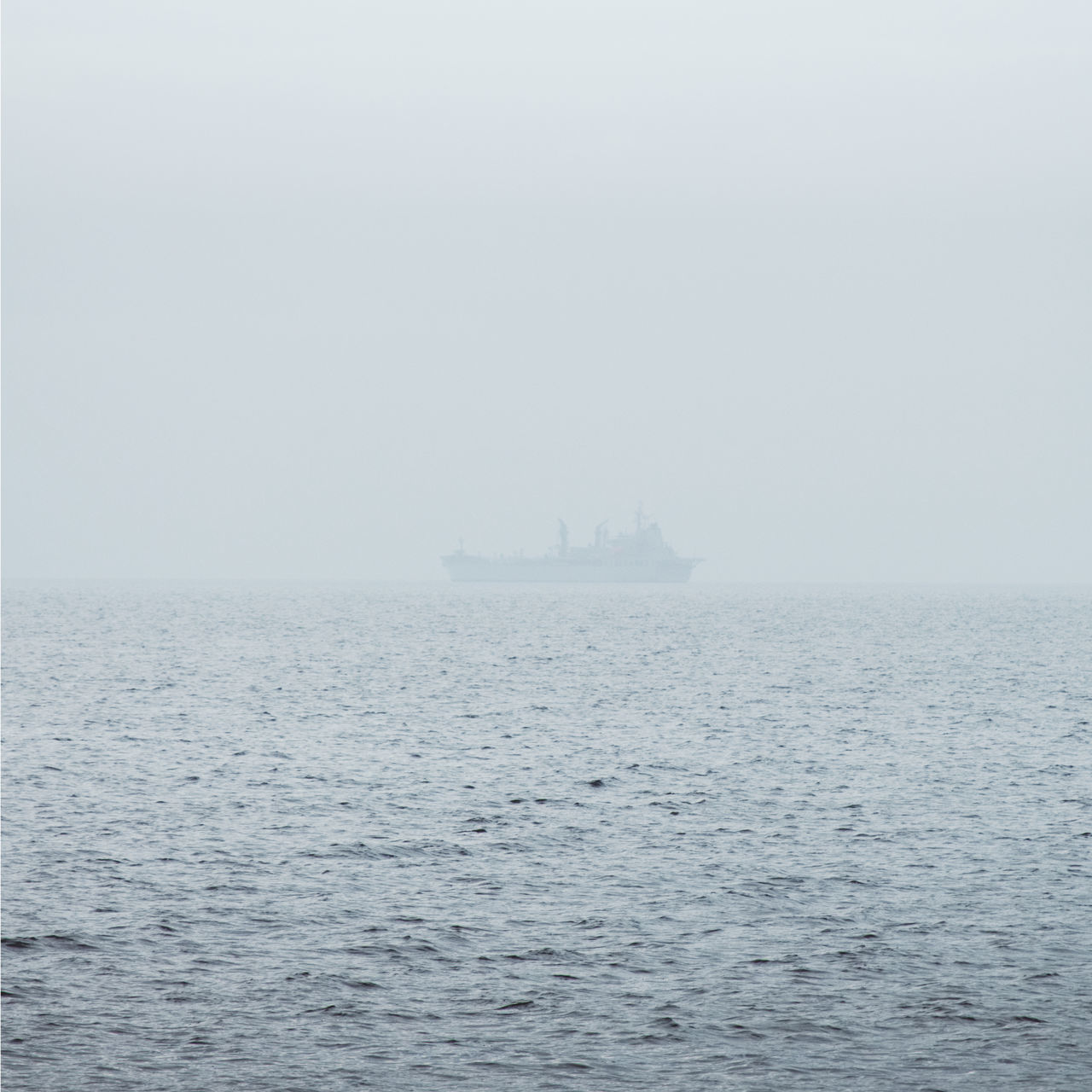 A marinship patrolling along Jervis Bay at a foggy morning Adventure Australia Beauty In Nature Day Foggy Hello World Horizon Over Water Marine Marinship Nature Nautical Vessel No People Outdoors Sailing Sailing Ship Scenics Sea Sky Tranquility Transportation Water