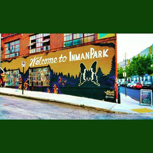 Inman Park Mural Art ArtPop KingsOfPop Spring Has Arrived Urbanexploration Urban Art