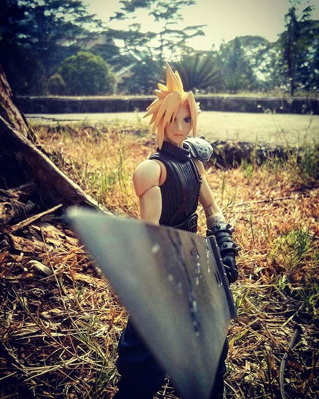 Stay where you belong; in my memories! Cloudstrife FinalfantasyVII Finalfantasy7 Ff7 Playarts Bustersword