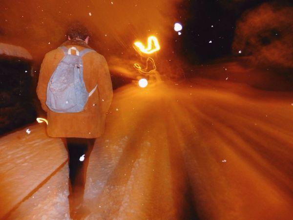 Slow Shutter in the Blizzard Deepfreeze