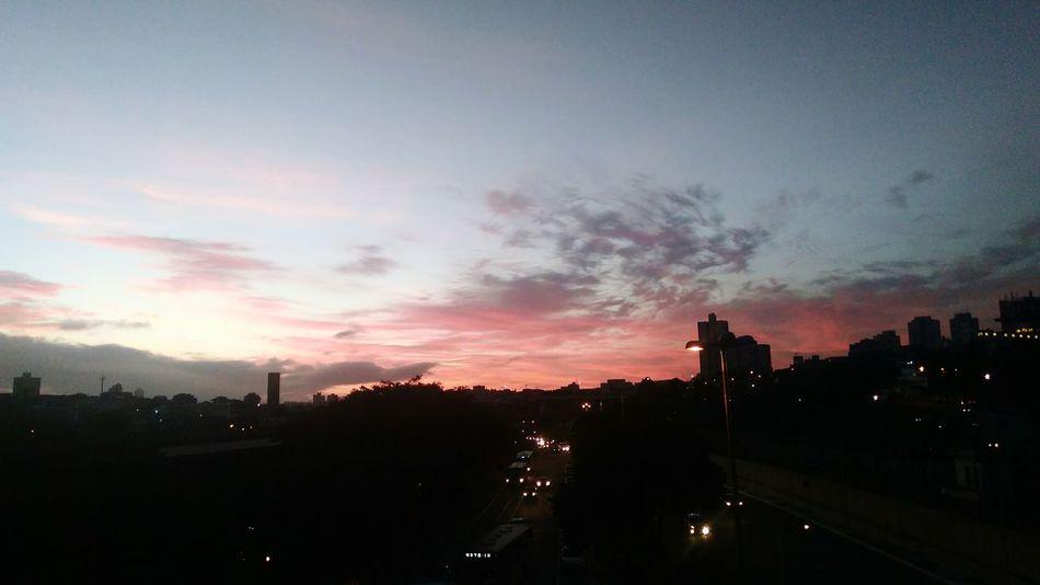 City Cloud - Sky Sunset Sky Beauty In Nature Tbt💕 Multi Colored City Vilamatilde Cityscape Rainbow Sao Paulo - Brazil EyeEmNewHere