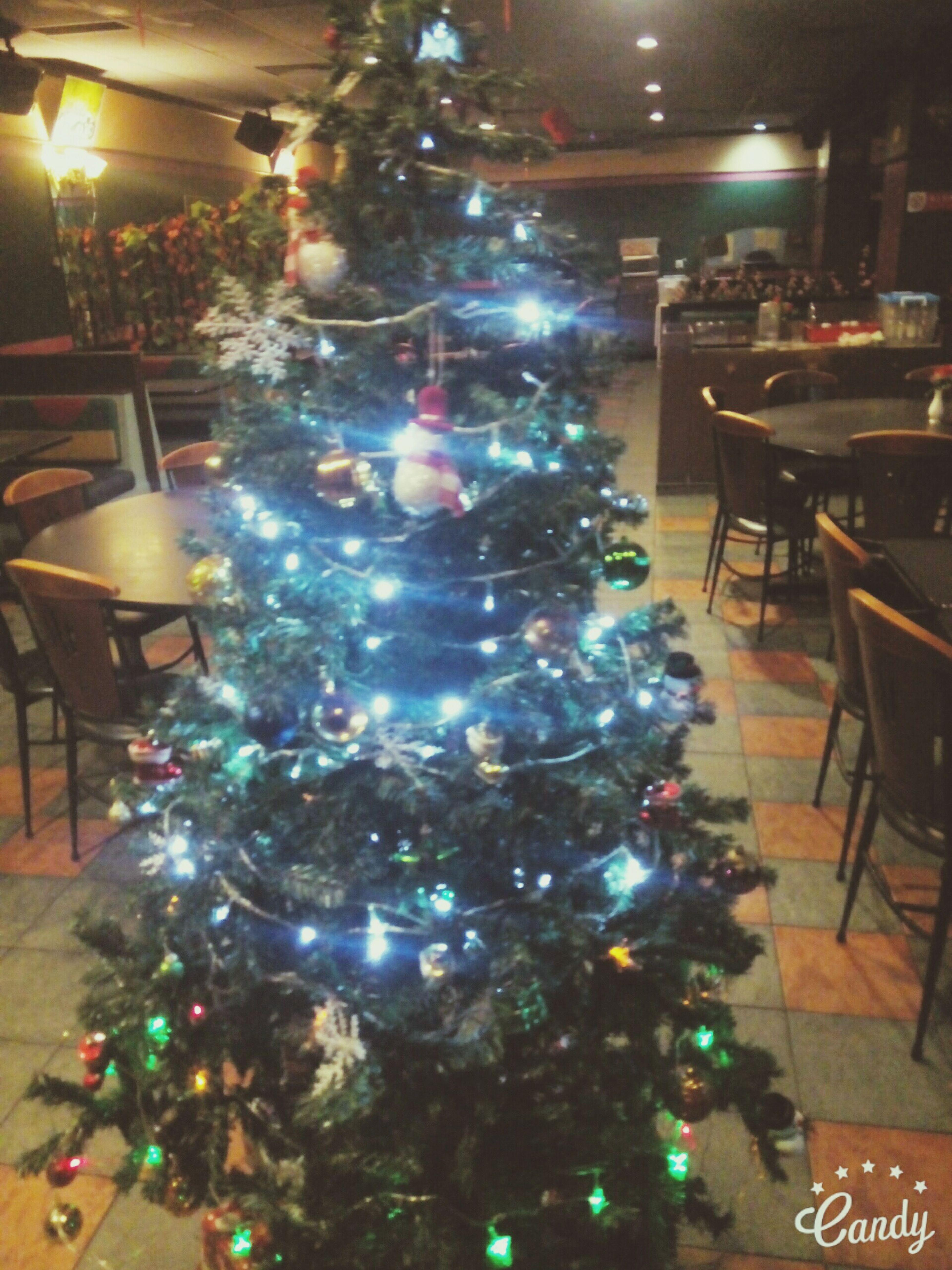 X'mas.... in cafe bar...