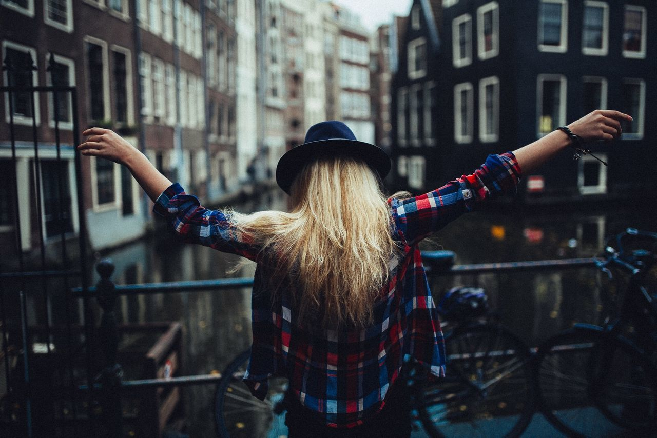 Beautiful stock photos of fashion, Architecture, Arms Outstretched, Building Exterior, Built Structure