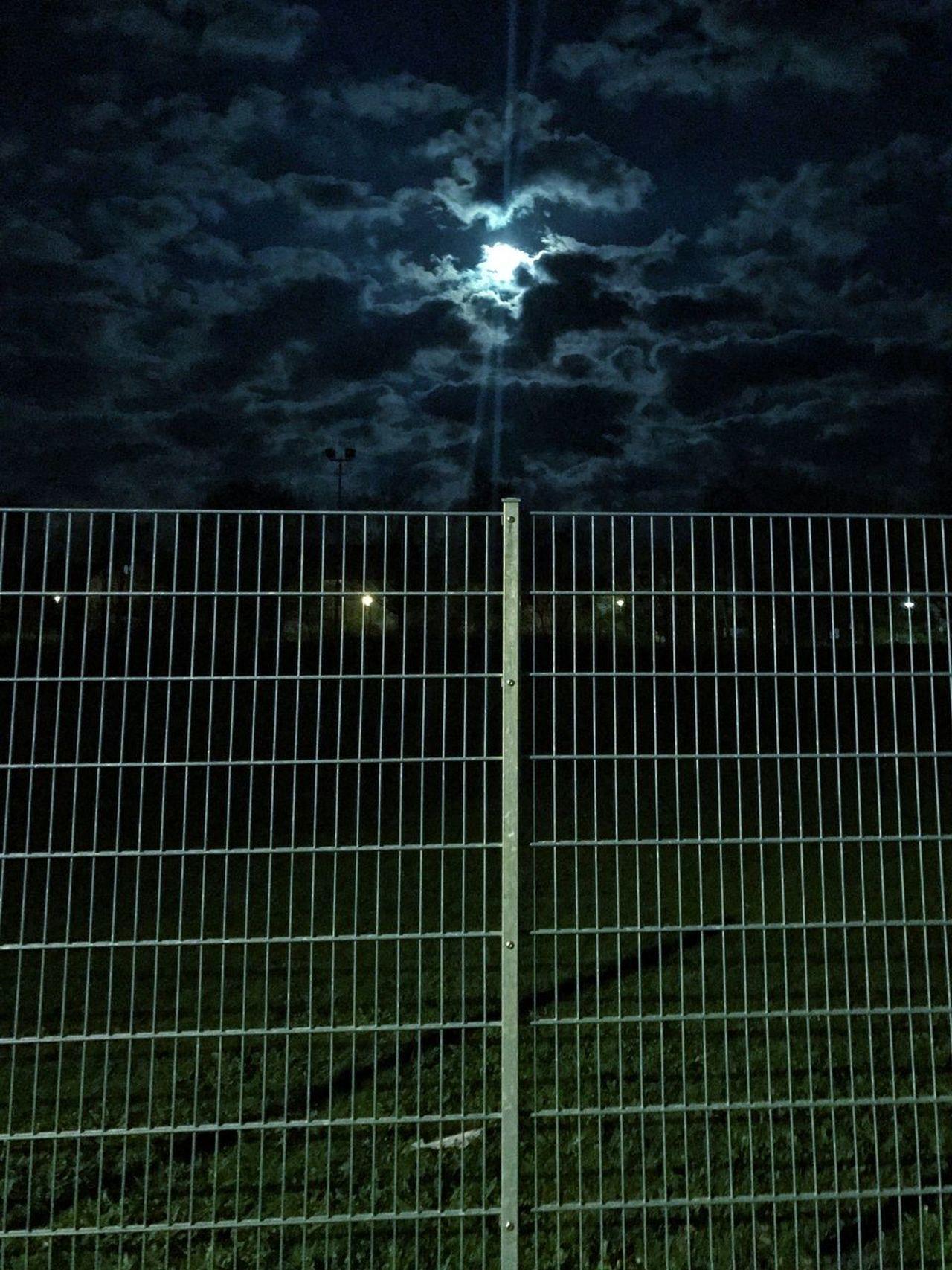 Night Sky Illuminated Cloud - Sky Outdoors Low Angle View No People Moon Storm Cloud Nature
