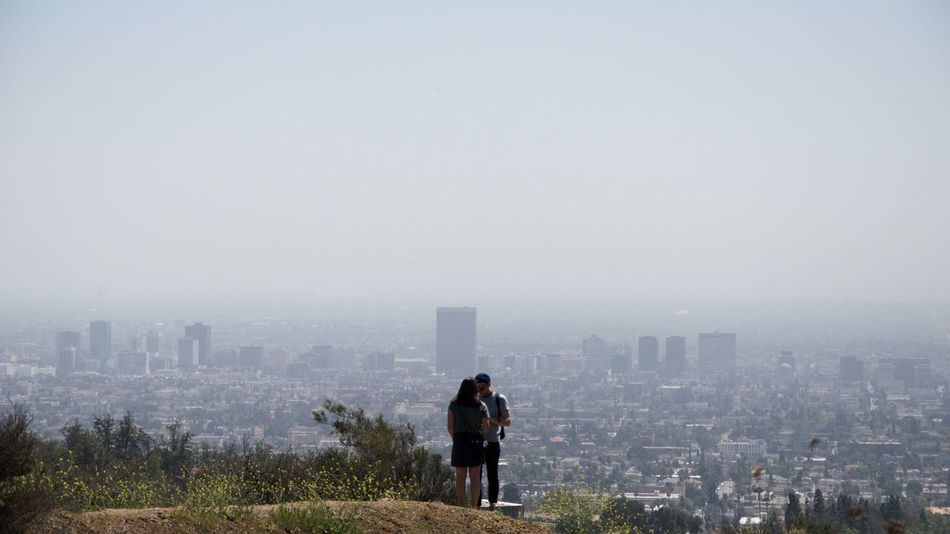 This couple was fighting and screaming for a while before they become friends again making out with that beautiful view.Los Ángeles California City Cityscape Horizon Traveling Travel Eye Em A Traveller EyeEm Gallery Eye4photography  EyeEmBestPics EyeEm Best Shots EyeEm Best Edits People Nature's Diversities Original Experiences People Together Fine Art Photography Embrace Urban Life Two Is Better Than One People And Places The Great Outdoors - 2016 EyeEm Awards