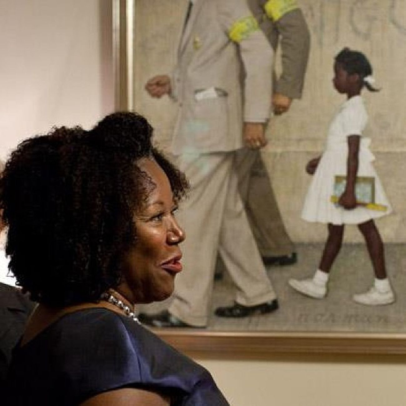 Ruby Bridges in 2011 Integration Segregation  CivilRightsMovement Blackhistorymonth AmericanHistory RubyBridges