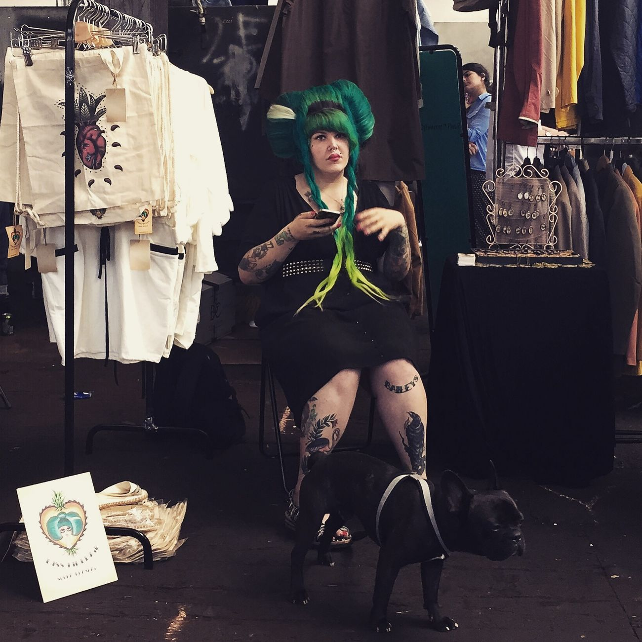 The Portraitist - 2015 EyeEm Awards Street Fashion Streetphoto_color