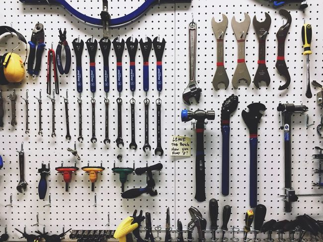 Order at the Bike Shop • Rei Tools