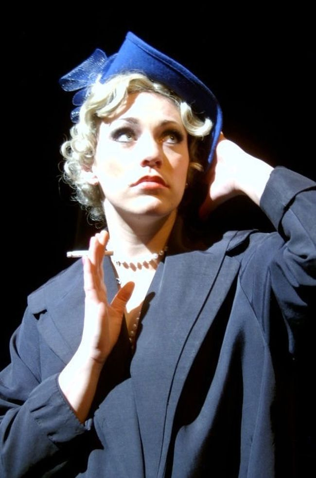 Queenie in 'The Wild Party' by Andrew Lippa. Musical That's Me Theater Wildparty Singing Acting