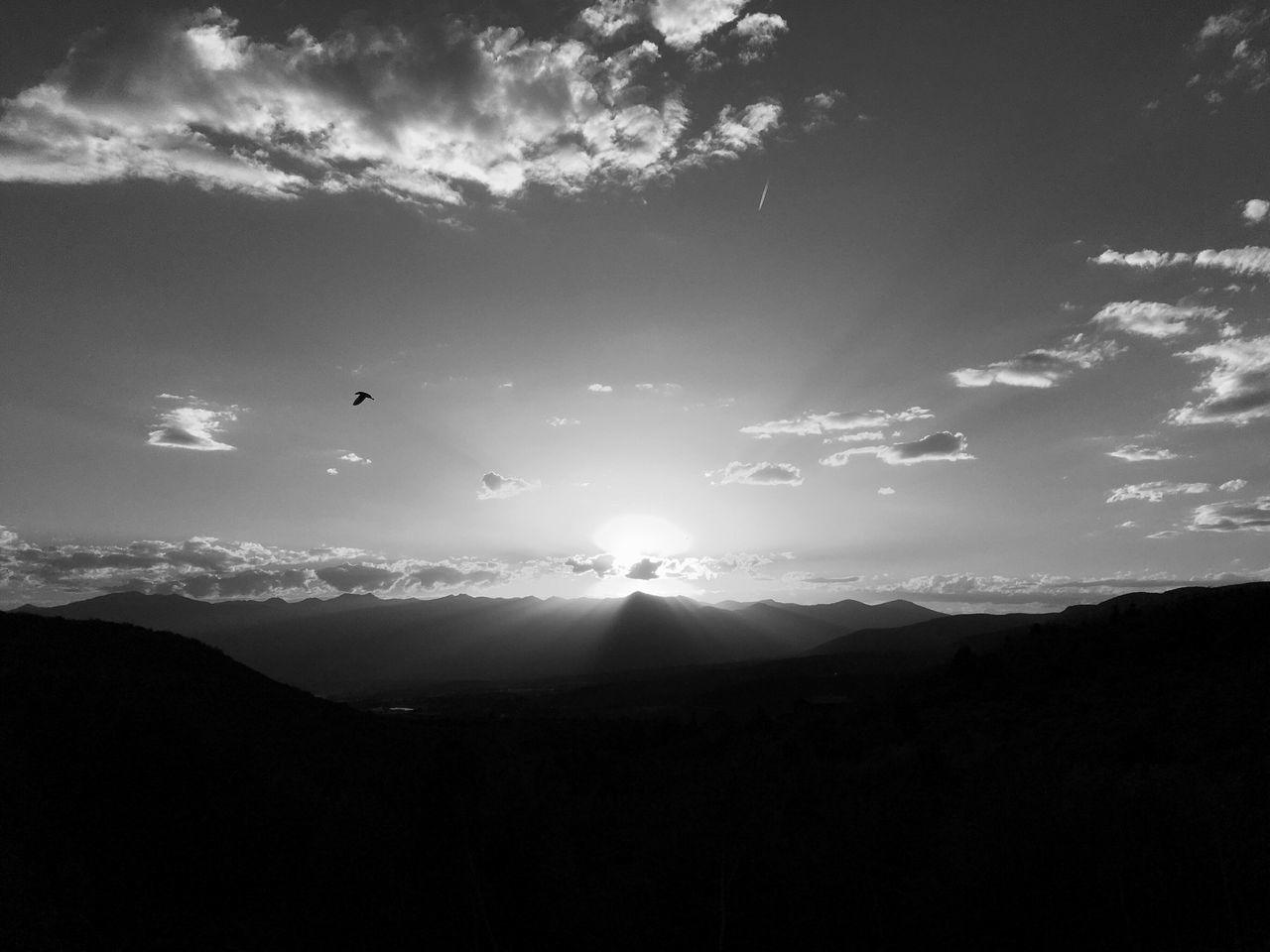 last night's sundown. Heber City Utah