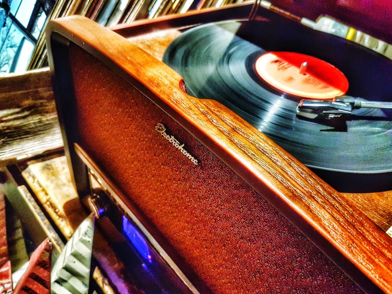 Music Records Retro