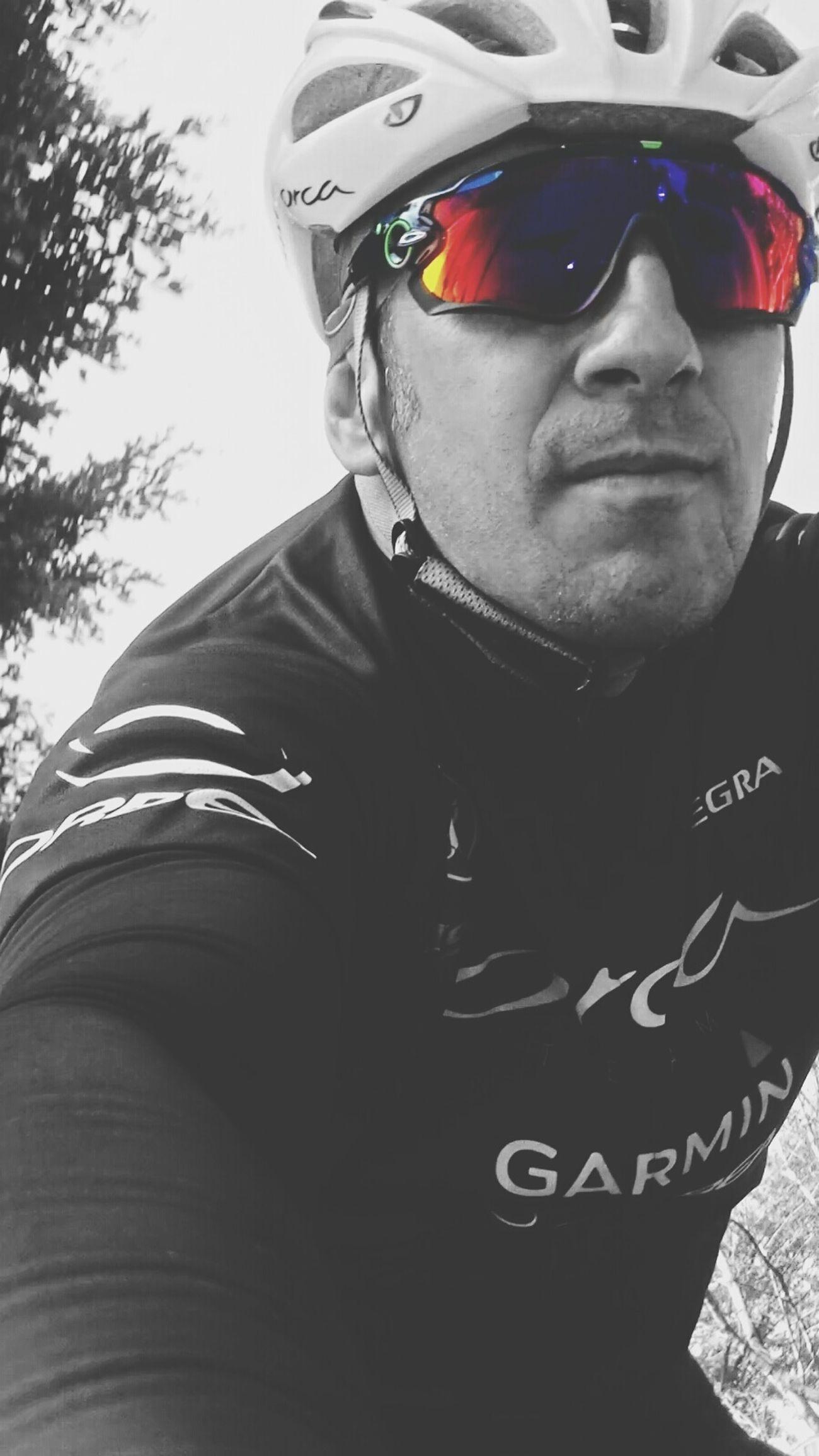 Oakleysunglasses Jawbreaker Excercising Cycling FaceTime Garmin Blackandwhite Enjoying The Sun Selfshot Fashion