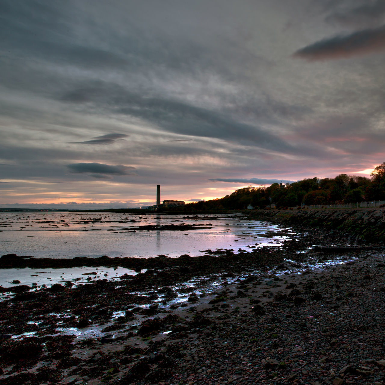 Architecture Beach Buildings Culross Culross Beach Culross Town House Dunfermline East Coast Fife  Firth Of Forth Historic Scotland Kingdom Of Fife Longannet Power Station No People Outlander Powerstation Saint Serf Scotland Scottish Sunset Unicorn