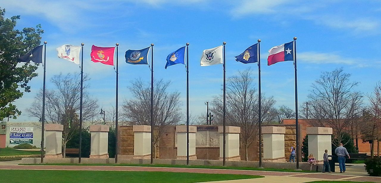 In Honor of all U.S. Military. Military ♥ In Memory Memorial Flags In The Wind  Flags Texas United States Of America American United States Patriotism American Pride