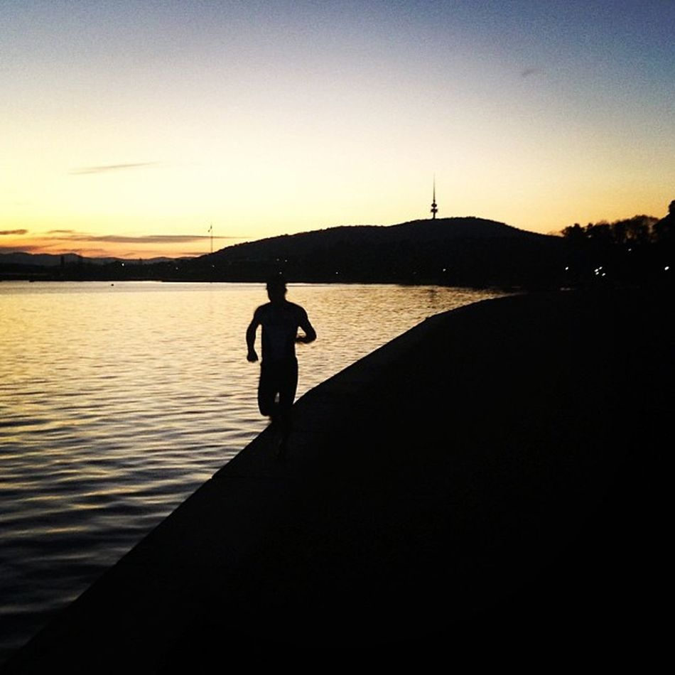 @paulik281 I am again out walking around the lake ... Perfekt temperature here :-)