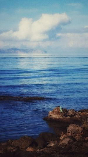 Seaside Sea Beach Horizon Over Water Sky Cloud - Sky Nature Beauty In Nature Scenics Water Outdoors Tranquil Scene No People Tranquility Day Mallorca🌞 Mallorca Majorca Blue Copy Space Four Leaf Clover Bliss Landscape_lovers Landscape Dreamscapes Dreams