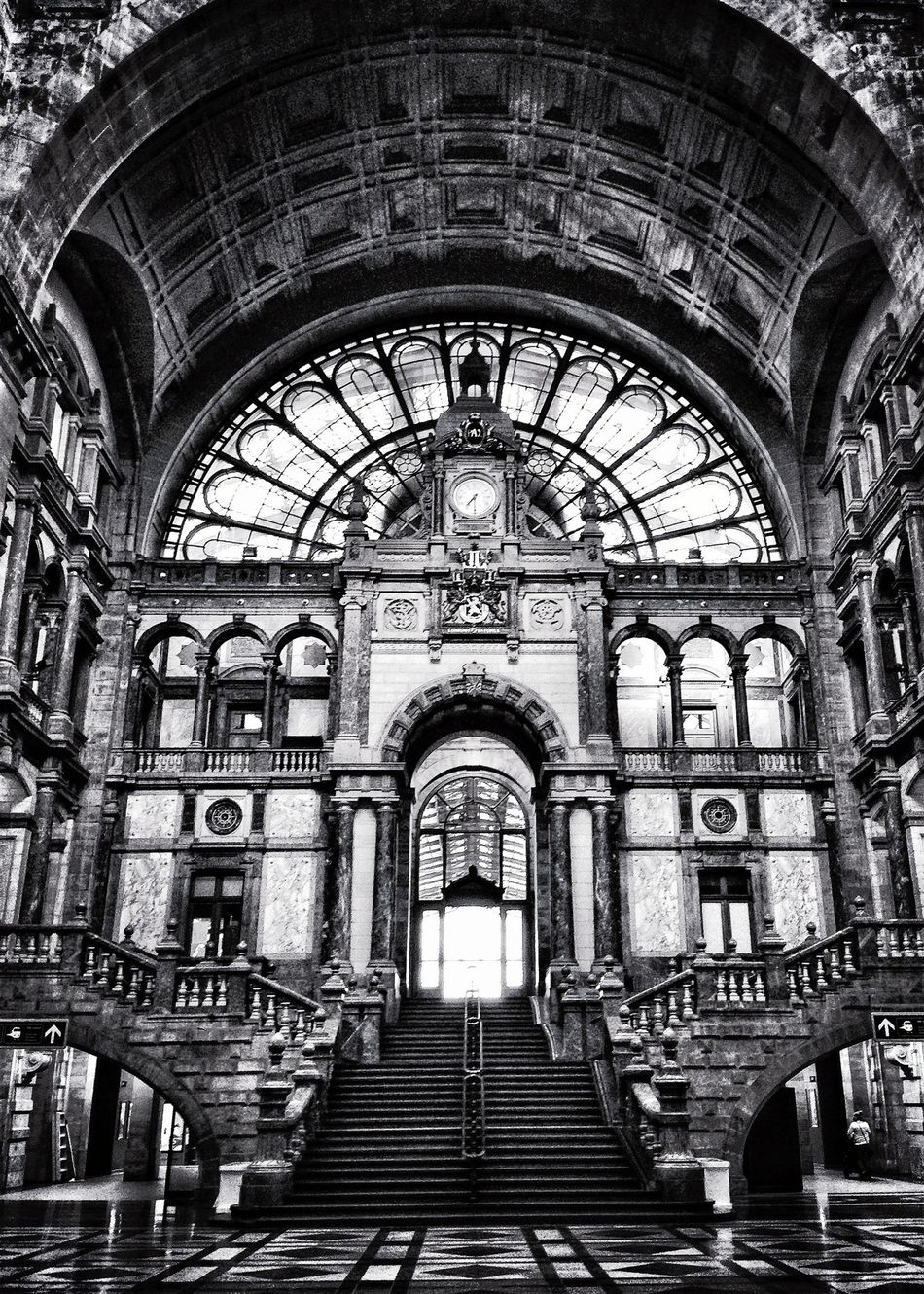 Central station Antwerp Eye4black&white Check This Out Streetphoto_bw AMPt_community